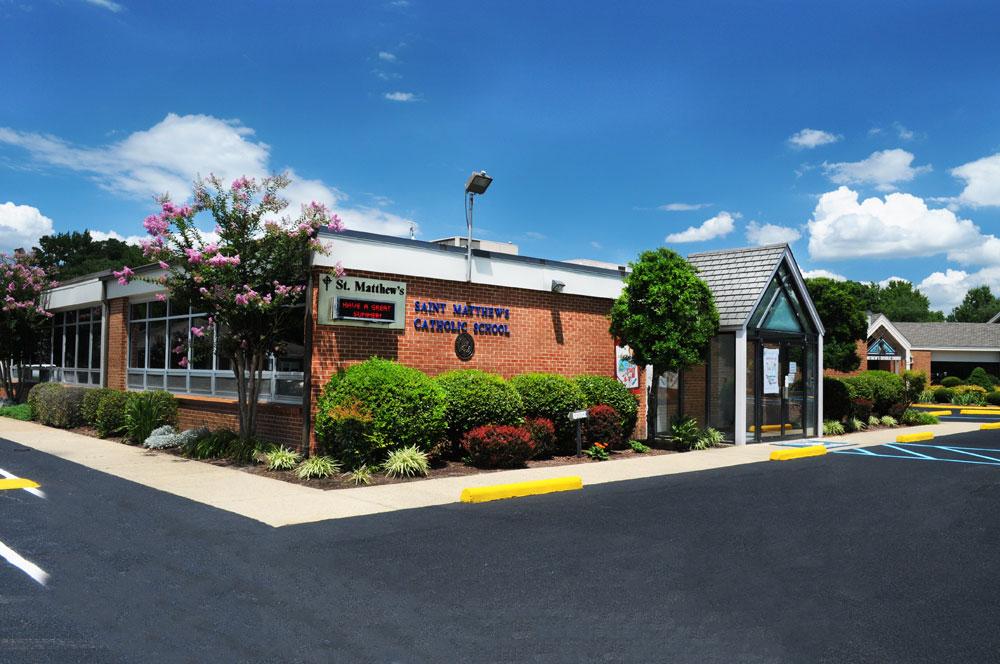 St. Matthew's School exterior