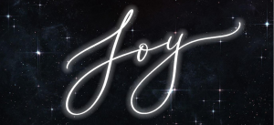 Joy graphic White